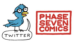 Twitter and Phase Seven Comics Links